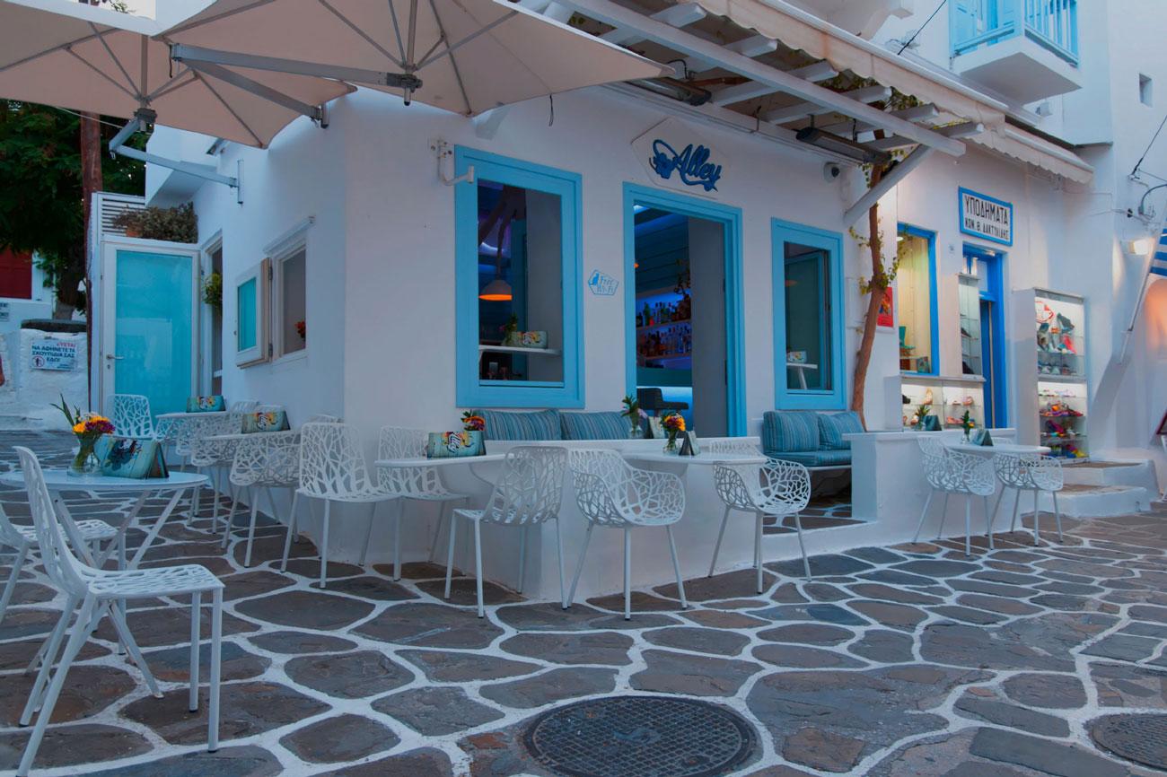 mykonos bar alley catering